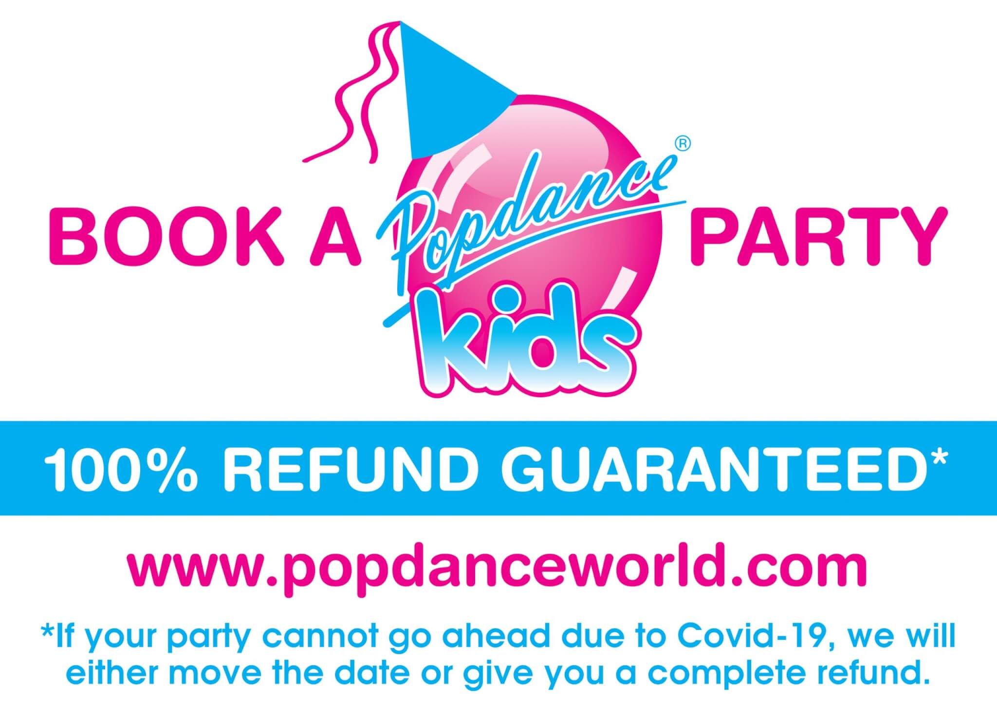Popdance are now taking bookings for Parties and Workshops